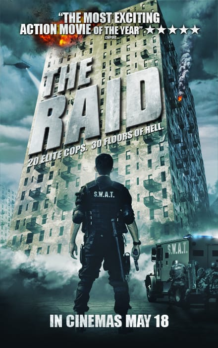 The raid movie poster blueprint review the raid movie poster malvernweather Image collections