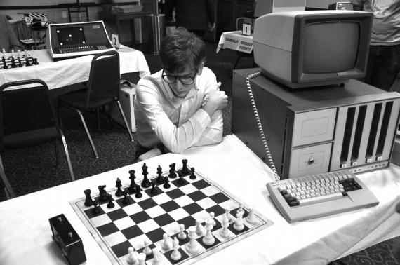 Computer Chess Film Still