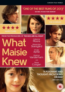 What Maisie Knew DVD cover