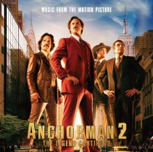 Anchorman 2 OST cover