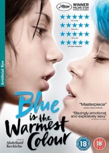 Blue is the warmest colour DVD cover