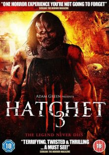 Hatchet 3 DVD cover