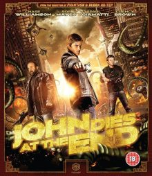 John Dies at the End Blu Ray cover