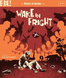 Wake in Fright Blu Ray cover