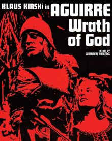 Aguirre Wrath of God Blu Ray cover