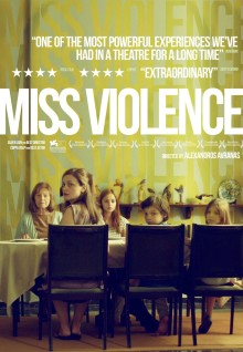 Miss Violence DVD cover
