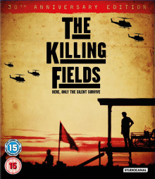 The Killing Fields Blu Ray cover