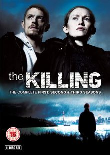 The Killing US series 1-3 DVD