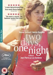 Two Days One Night DVD cover
