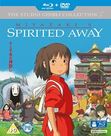 Spirited Away DVD Bluray