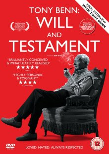Tony Benn Will and Testament poster