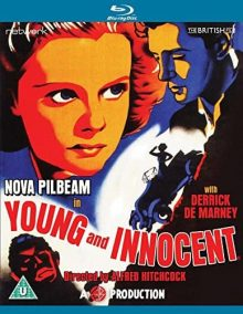 Young and Innocent Blu Ray case