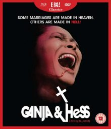 Ganja and Hess blu ray cover
