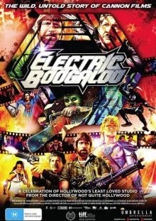 Electric Boogaloo the wild untold story of Cannon Films Poster