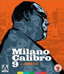 Milano Calibro 9 blu ray Arrow