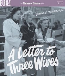 A letter to three wives blu ray