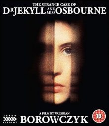 The STrange Case of Dr Jekyll and Miss Osbourne blu-ray