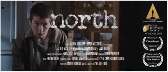 North short film banner