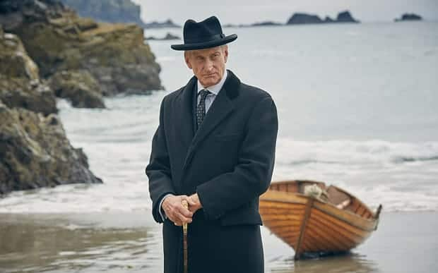 WARNING: Embargoed for publication until 00:00:01 on 03/12/2015 - Programme Name: And Then There Were None - TX: n/a - Episode: n/a (No. 1) - Picture Shows: Judge Wargrave (CHARLES DANCE) - (C) Mammoth Screen - Photographer: Robert Viglasky