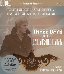 Three Days of the Condor Blu-Ray