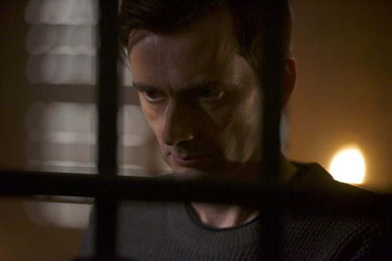 David Tennant as maniacal abductor Cale Erendreich